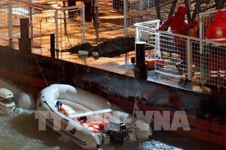 Du thuyền chở 33 du khách Hàn Quốc gặp nạn trên sông Danube