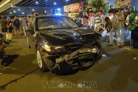 Bắt tạm giam nữ tài xế lái BMW gây tai nạn ở Hàng Xanh
