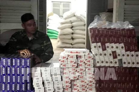 An Giang thu giữ gần 2.500 gói thuốc lá điếu ngoại nhập lậu