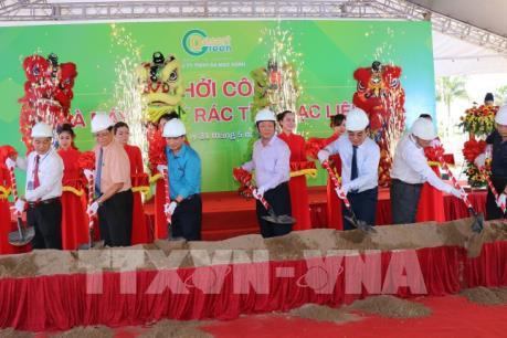 Khởi công xây dựng nhà máy xử lý rác công suất 150 tấn/ngày