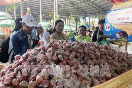 Tái hiện chợ nổi trái cây Nam Bộ ngay giữa Tp. Hồ Chí Minh