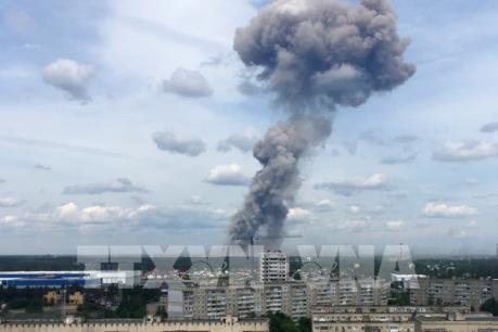 Nga: Nổ lớn tại nhà máy sản xuất thuốc nổ