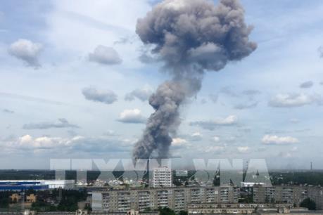 Nga: Số nạn nhân vụ nổ nhà máy sản xuất thuốc nổ tăng lên 19 người