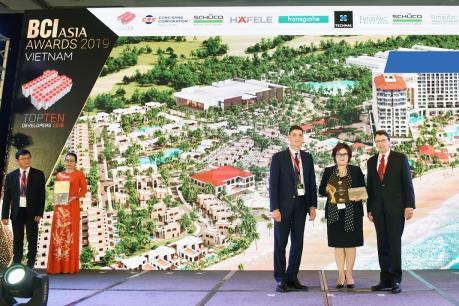 FLC lọt Top 10 chủ đầu tư hàng đầu tại BCI Asia Awards
