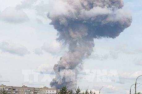 Nga: Ít nhất 38 người bị thương trong vụ nổ nhà máy sản xuất thuốc nổ