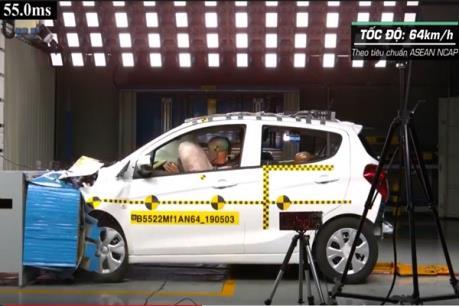 Xe VinFast Fadil đạt các bài kiểm tra thử va đập ở Hàn Quốc