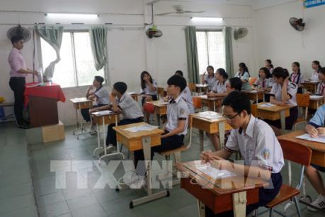 Sai sót đề thi tiếng Anh vào lớp 10: Bỏ trống phần trả lời sẽ không được chấm điểm
