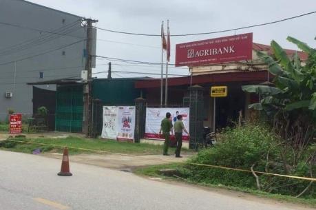 Bắt nghi phạm gây ra vụ cướp ngân hàng ở Phú Thọ