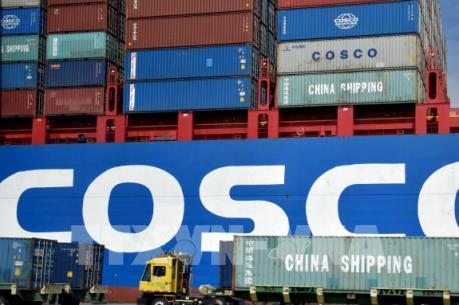 Thương mại của Mỹ giảm xuống mức thấp nhất rong 16 tháng qua