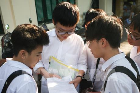 Hà Nội công bố điểm chuẩn vào lớp 10 công lập năm học 2019 - 2020