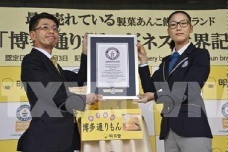 Nhật Bản: Bánh ngọt nhân đậu đạt kỷ lục thế giới Guinness