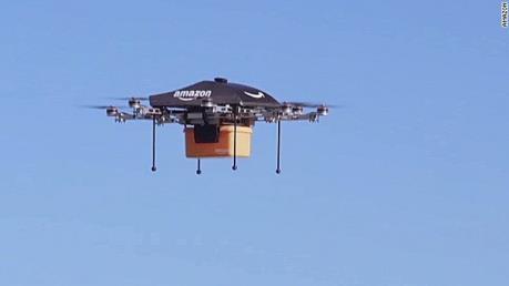 Amazon sẽ giao hàng quy mô lớn bằng máy bay không người lái