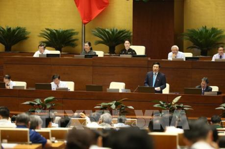 Phó Thủ tướng Phạm Bình Minh làm rõ các vấn đề mà đại biểu quan tâm