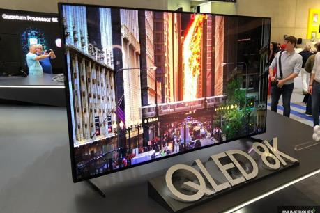Samsung bán được 8.000 chiếc TV QLED 8K