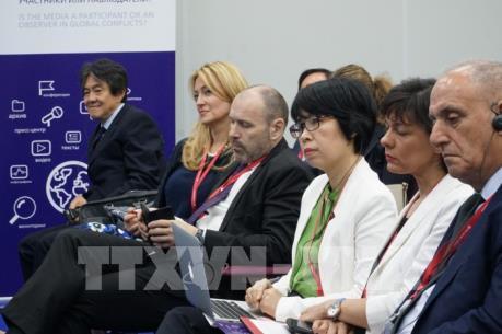 Thông tấn xã Việt Nam tham dự Diễn đàn Kinh tế Quốc tế Saint-Petersburg 2019