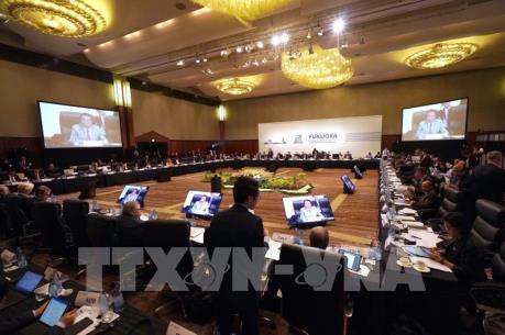 Hội nghị cấp bộ trưởng G20 ra tuyên bố chung