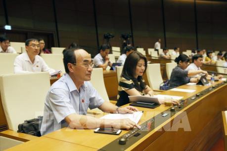 Hôm nay, Quốc hội sẽ thông qua hai nghị quyết và thảo luận hai dự án Luật