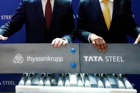 Kế hoạch sáp nhập tập đoàn thép Thyssenkrupp-Tata bị phủ quyết