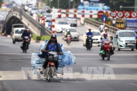 Hà Nội: Nắng nóng gay gắt từ đầu tuần
