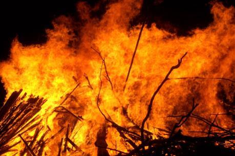 Phú Thọ: Cháy lớn tại Khu công nghiệp Thụy Vân