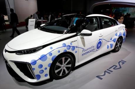 Hàn Quốc công bố 6.000 ô tô chạy bằng hydro trong năm 2019