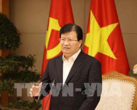 Phó Thủ tướng Trịnh Đình Dũng tiếp Phó Chủ tịch Tập đoàn Hanesbrands (Hoa Kỳ)