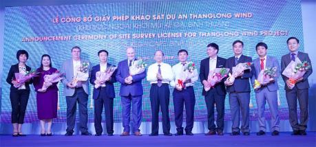 Công bố giấy phép khảo sát dự án điện gió ngoài khơi Kê Gà