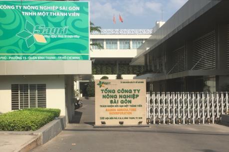 Đình chỉ công tác Tổng Giám đốc Tổng Công ty Nông nghiệp Sài Gòn
