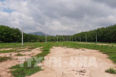 Tháo dỡ, khôi phục lại đất nông nghiệp bị phân lô trái phép