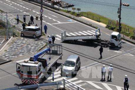 17 trẻ mẫu giáo ở Nhật Bản bị ô tô lao vào khi đang đi bộ