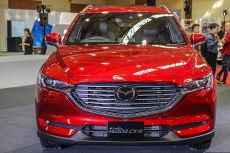 Thaco chốt ngày ra mắt SUV 7 chỗ Mazda CX-8