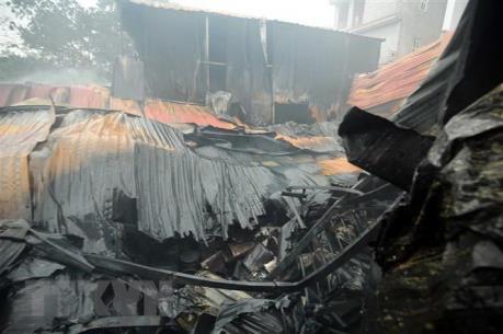 Liên tiếp cháy tại Nghệ An, thiêu rụi nhiều tài sản giá trị