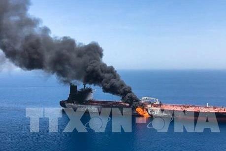 Iran bác bỏ đứng đằng sau các vụ tấn công 2 tàu chở dầu trên Vịnh Oman