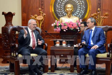 Hoa Kỳ muốn Tp. Hồ Chí Minh tạo điều kiện cho doanh nghiệp đầu tư nhiều lĩnh vực