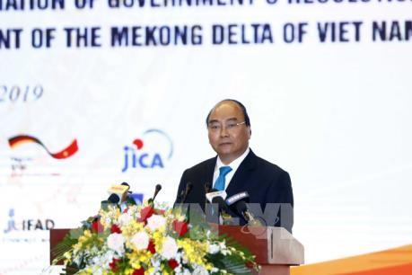 Thủ tướng: Hướng đến chinh phục biến đổi khí hậu tại Đồng bằng sông Cửu Long