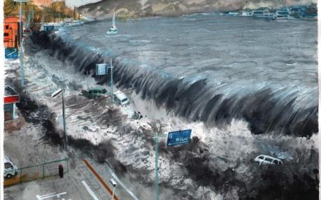 Nhật Bản cảnh báo sóng thần, dừng hoạt động tàu cao tốc sau động đất