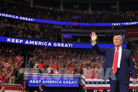 Bầu cử Mỹ 2020: Số tiền quyên góp của Tổng thống Trump tăng cao