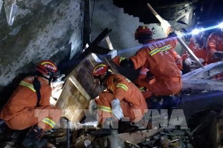 Xe cứu thương trang bị mạng 5G hiệu quả trong cứu trợ động đất