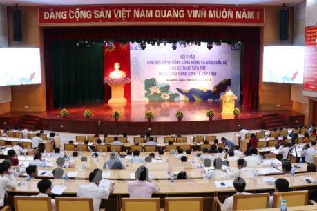 Điều hành kinh tế cấp tỉnh khu vực Đồng bằng sông Hồng và Đông Bắc Bộ
