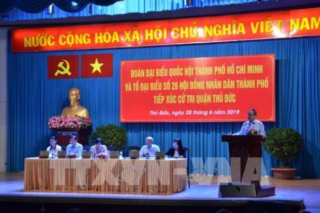 Tp. Hồ Chí Minh: Quan tâm tái định cư cho người dân trước khi bàn giao mặt bằng