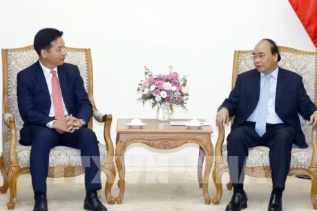 Thủ tướng Nguyễn Xuân Phúc tiếp lãnh đạo Tập đoàn AEON (Nhật Bản)