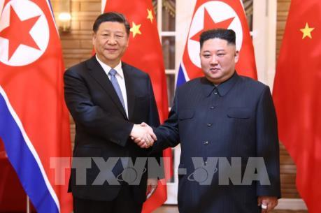 KCNA: Lãnh đạo Triều Tiên,Trung Quốc nhất trí củng cố quan hệ