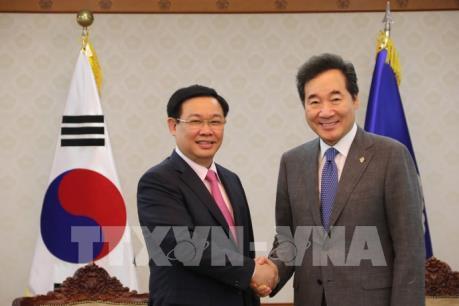 Việt Nam - Hàn Quốc hướng tới nâng kim ngạch thương mại lên 100 tỷ USD năm 2020
