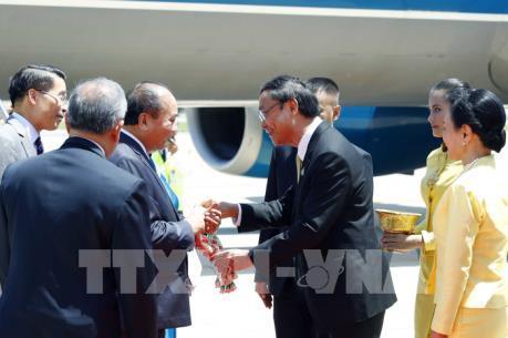 Thủ tướng tới Bangkok, bắt đầu các hoạt động tham dự Hội nghị Cấp cao ASEAN lần thứ 34