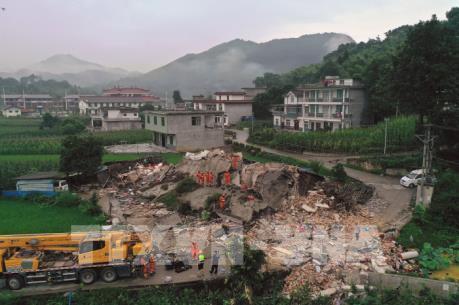 Lại xảy ra động đất ở Tứ Xuyên, Trung Quốc