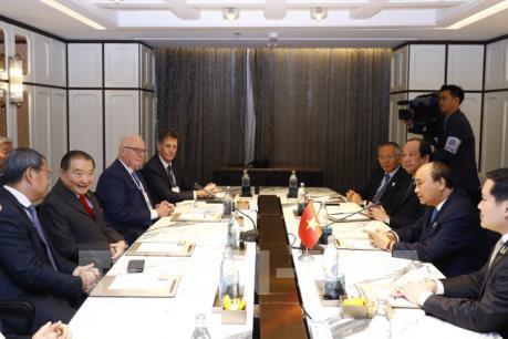 Thủ tướng Nguyễn Xuân Phúc tiếp lãnh đạo một số tập đoàn lớn của Thái Lan