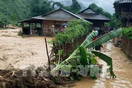 Mưa lũ và lũ quyét đột ngột tại Lai Châu và Lào Cai