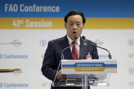 Đại diện Trung Quốc trúng cử Tổng Giám đốc FAO