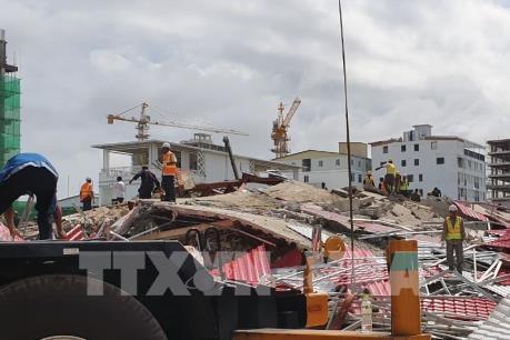 Campuchia điều chuyển hàng loạt quan chức cấp cao sau vụ sập nhà cao tầng