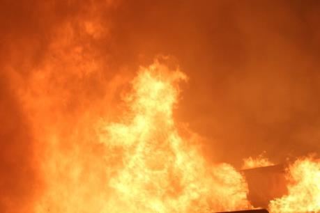 Cháy cơ sở sản xuất đồ gỗ tại An Giang